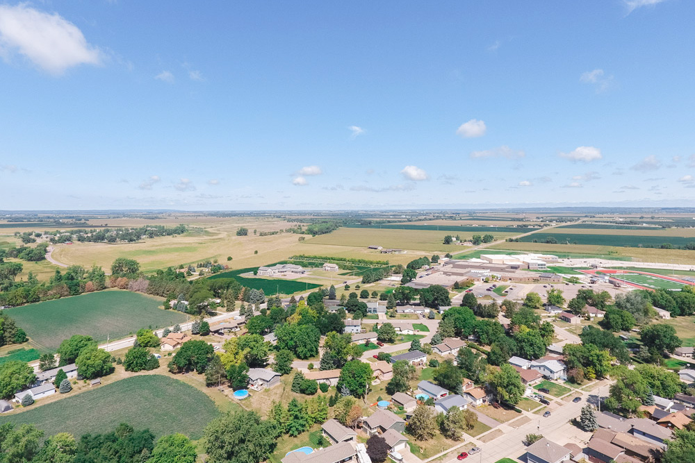 North Sioux City Aerial Shot