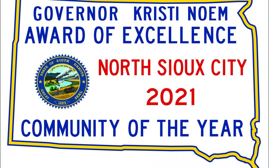 North Sioux City Wins Small Community of the Year Award